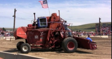 Lind's Combine Demolition Derby