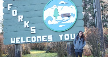 Our visit to Forks. The land of vampires and werewolves. [video]