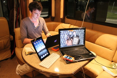 Blogging on the Fleetwood RV