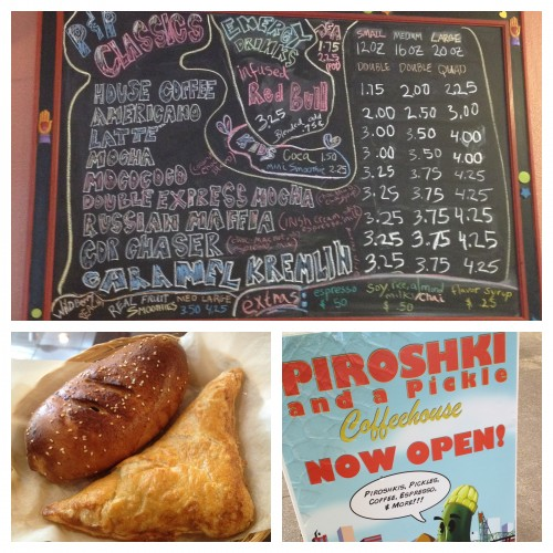Piroshki and a Pickle beef and potato piroshki