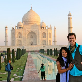 We went to the Taj Mahal and all we got was… ENGAGED!