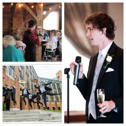 How to give a speech at a wedding