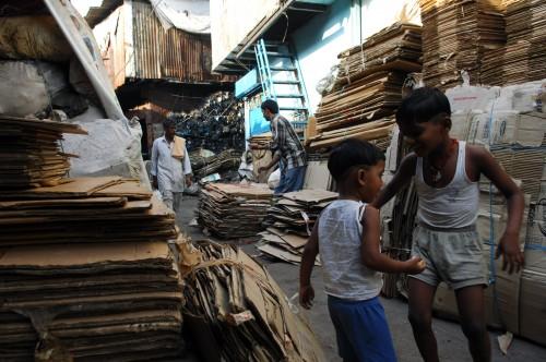 cardboard recycling
