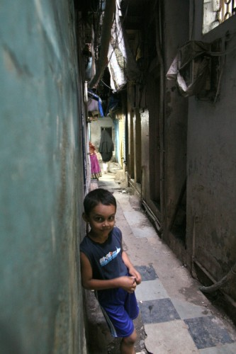 The streets of Dharavi