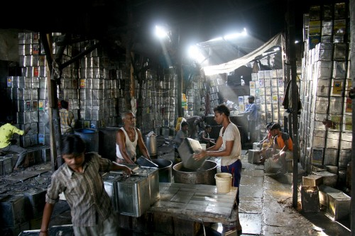 Recycling programs in Dharavi