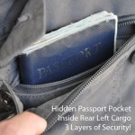 Hidden Passport Pocket