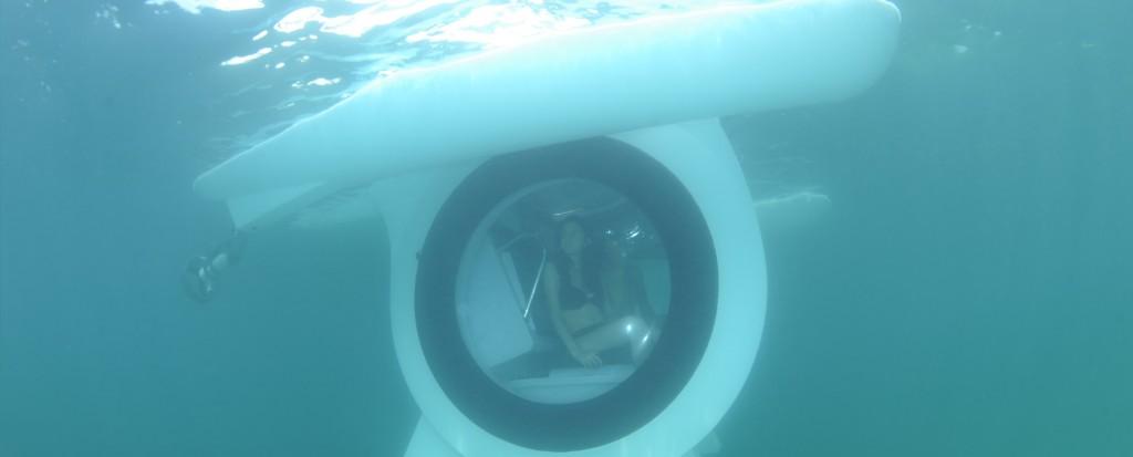 Underwater laser tag
