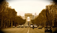 Paris champs elysees