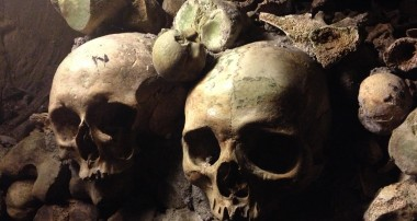 Reflections among 6 million dead in the Paris catacombs