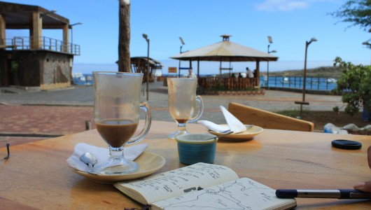 coffee in the Galapagos