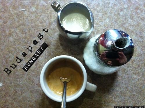 sketchy Budapest coffee