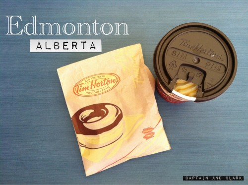 coffee in Alberta Tim Hortons