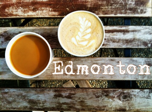 coffee in Edmonton