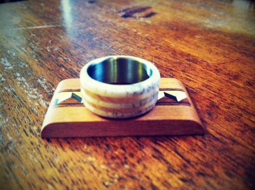 wood wedding ring for men