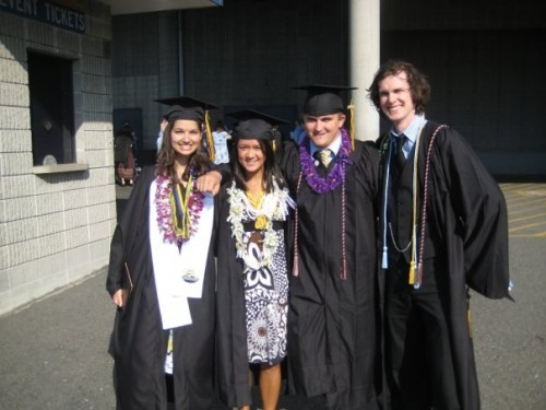 Captain and Clark graduate from PLU in 2008