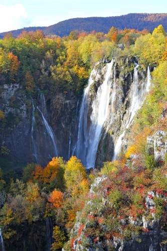 Our greeting to Plitvice Lakes National park. Magnificent.
