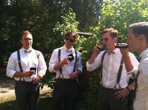 vintage groomsmen outfits