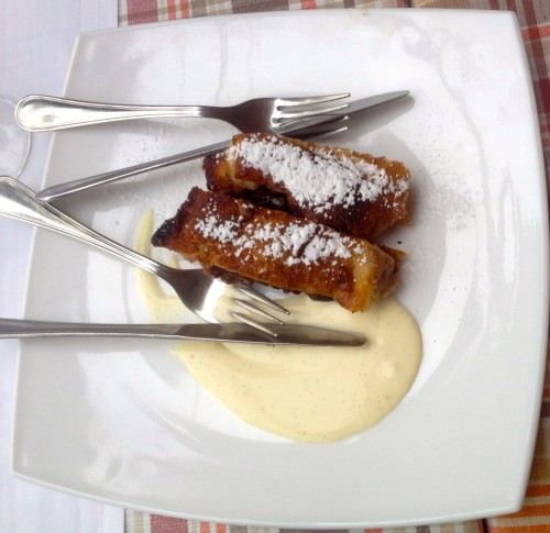 Food of Croatia dessert strudel