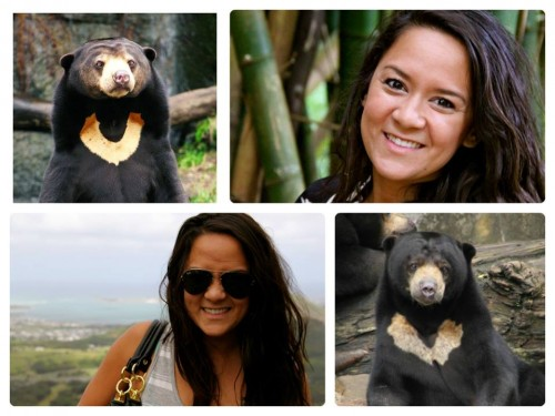 And you ALWAYS looked smoking hot. Also kind of like a sunbear