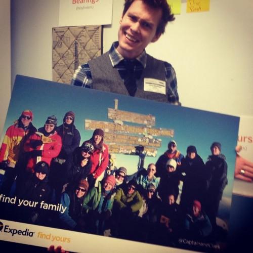 We became Expedia ViewFinders