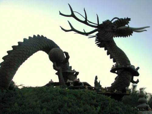Korean Dragon Temple