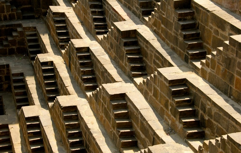 The World's Largest Step-Well