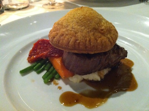 Chef Chai beef wellington oahu hawaii