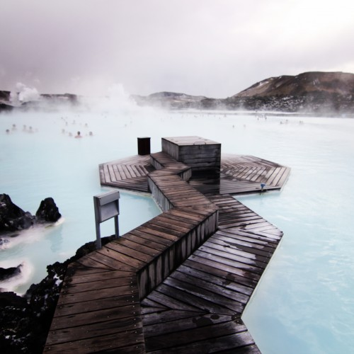Yes, the Blue Lagoon is just as gorgeous in real life as it is in pictures.