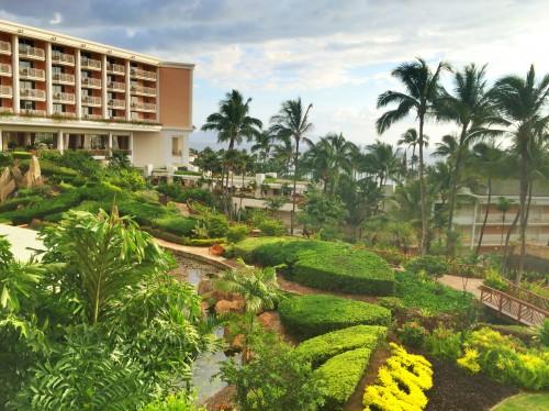 Ocean view rooms at the Grand Wailea Maui