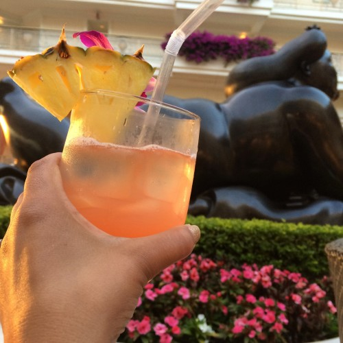 Cheers-ing to an awesome stay at the Grand Wailea
