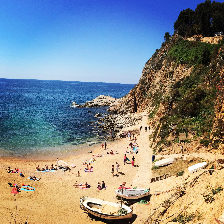 Пляжи испании коста браво фото