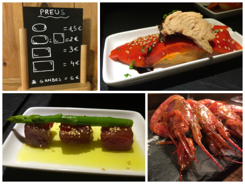 A sample of what we enjoyed on our tapas tour
