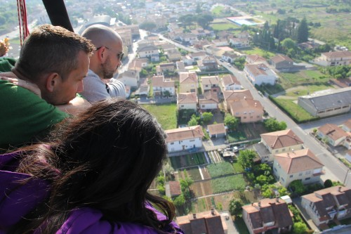 hot air balloon ride in Costa Brava