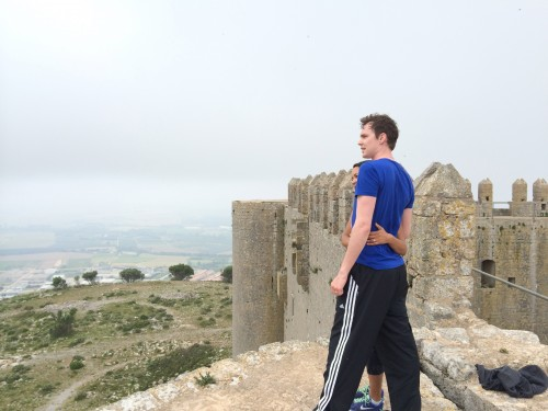 Exploring castles and fortresses in Costa Brava Spain