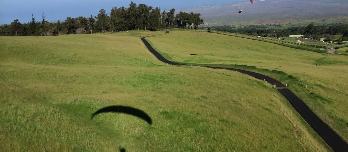 Soaring over Maui