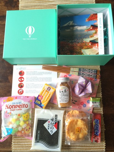 Try the World box montly subscription