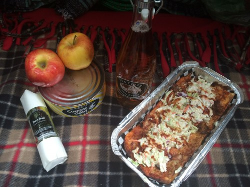 Autumn birthday picnic