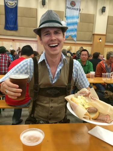 food at Oktoberfest, Leavenworth