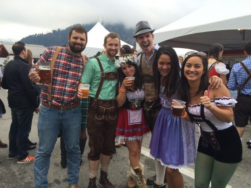 Hot Oktoberfest girls
