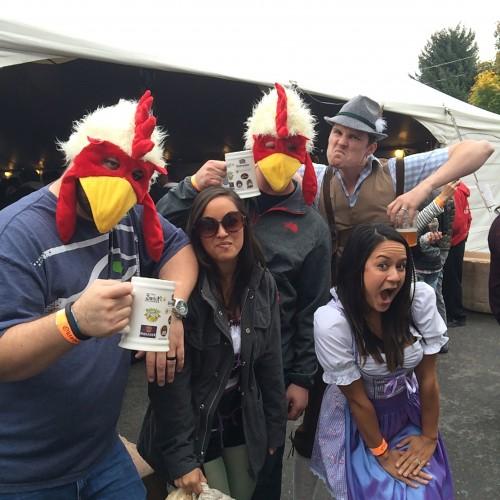 Leavenworth, Chicken dance, Oktoberfest