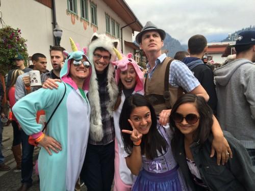 Oktoberfest costumes, Leavenworth, WA