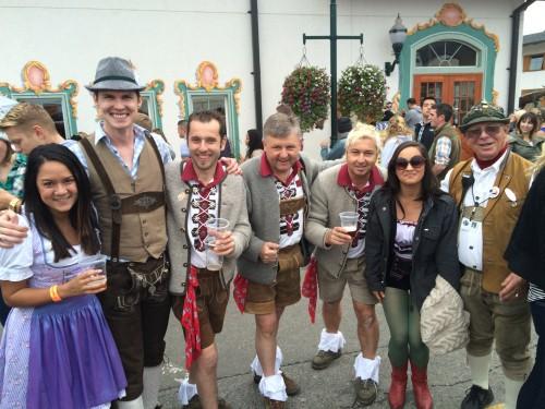 Outifts in Leavenworth, Oktoberfest