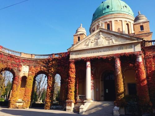 Zagreb's cemetery in Croatia