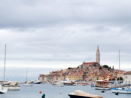 Beautiful town of Rovinj, Istria in Croatia