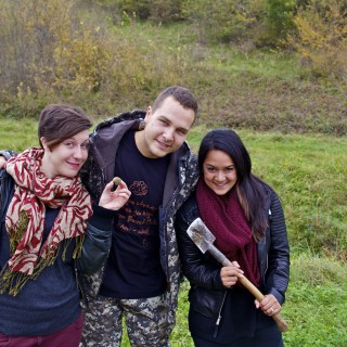 Truffle hunting in Istria, Croatia