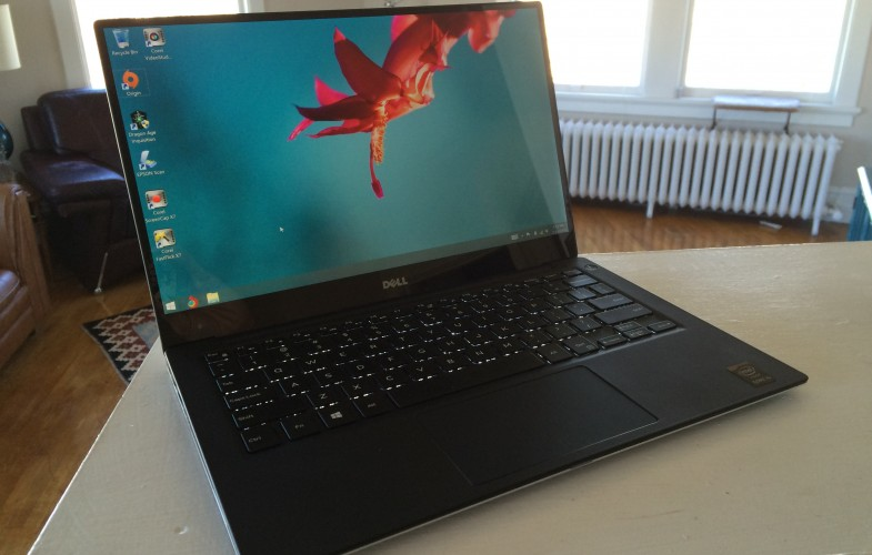 The New Dell XPS-13 Travel Laptop Review