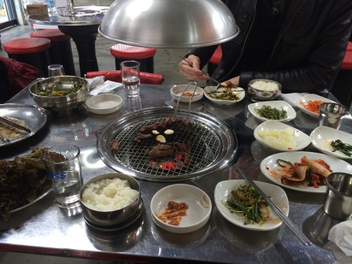 South Korean BBQ in Seoul