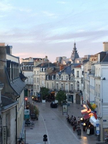 The beautiful city of Poitiers, France
