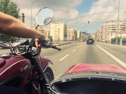 Barcelona sidecar tour