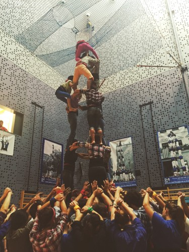 Human Towers or Castells in Catalonia